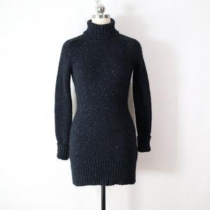 elie tahari thick pure cashmere sweater dress S